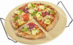 Küchenprofi Pizza kámen s rámem, průměr 30 cm