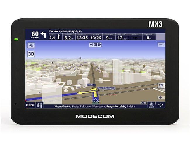 Modecom FreeWAY MX3 + AutoMapa Europa
