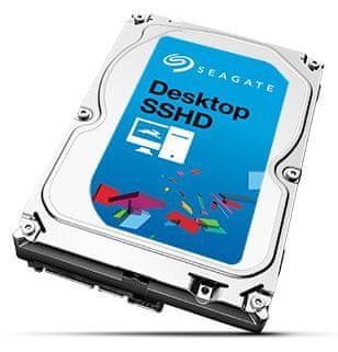 Seagate Desktop Hybridní 2TB, 64MB, SATA III (ST2000DX001)