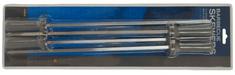 MAKERS Szpikulce do szaszłyków z silikonową rączką - 4 szt.