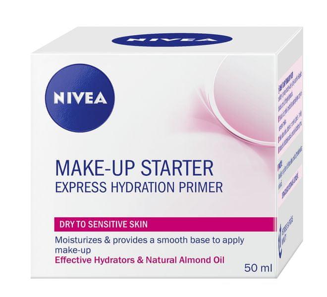 Nivea Make-up Starter lehký podkladový krém pro suchou a citlivou pleť 50 ml