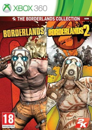 Take 2 Borderlands 1 & 2 Bundle (Xbox 360)