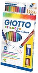 Giotto barvice Stilnovo erasable 10/1 256800