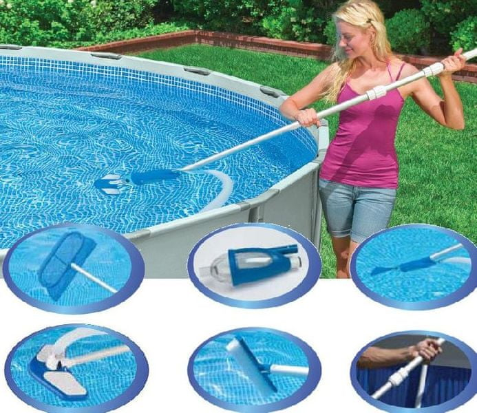 Intex Sada pro údržbu bazénu do vel. 5,49m a menších