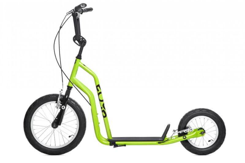 Yedoo koloběžka Four, zelená
