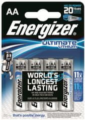 Energizer AA 4ks Ultimate Lithium