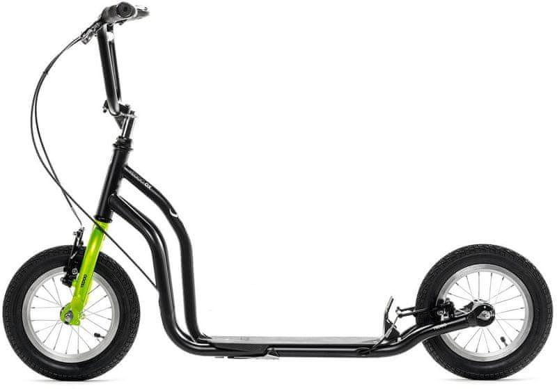 Yedoo Koloběžka Ox New černá/zelená