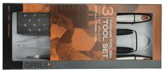 GrillMe 3-częściowy zestaw akcesoriów do grilla
