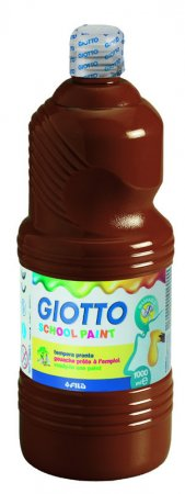 Giotto tempera 1000 ml rjava