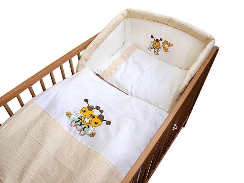 COSING 3-dílná sada povlečení De Luxe, včelka žlutá