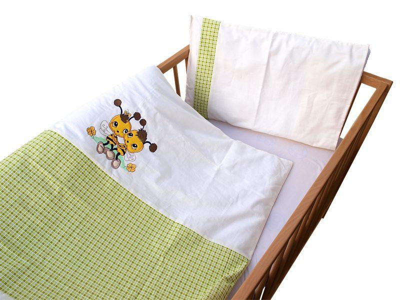 COSING 2-dílná sada povlečení De Luxe, včelka zelená