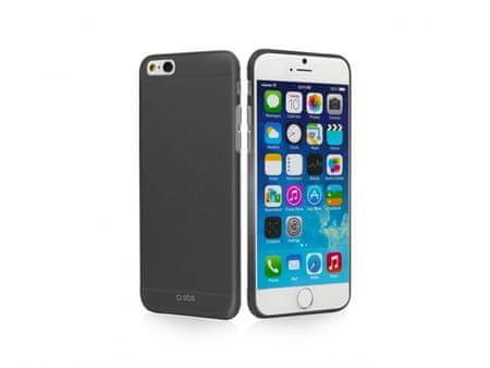 SBS ovitek extra-tanek za iPhone 6, črn (TEEXSLIMIP647K)