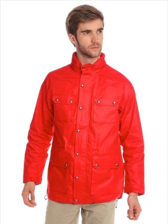 Chaps pánská bunda s mnoha kapsami L červená