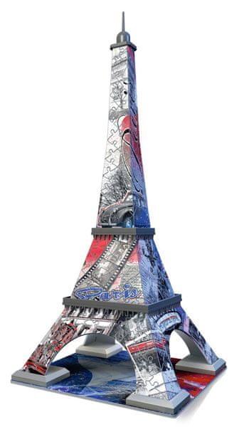 Ravensburger Eiffelova věž Vlajková edice 216 dílků