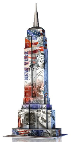 Ravensburger Empire State Building Vlajková edice 216 dílků