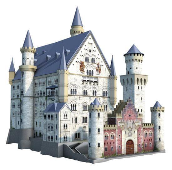 Ravensburger sestavljanka, 3D, 216 delna, XXL, Neuschwanstein grad
