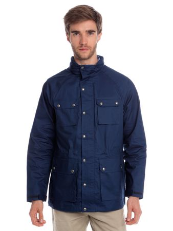 Chaps pánská bunda s mnoha kapsami XL modrá
