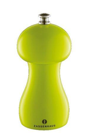 Zassenhaus mlinček za poper Bamberg, 12 cm, zelen