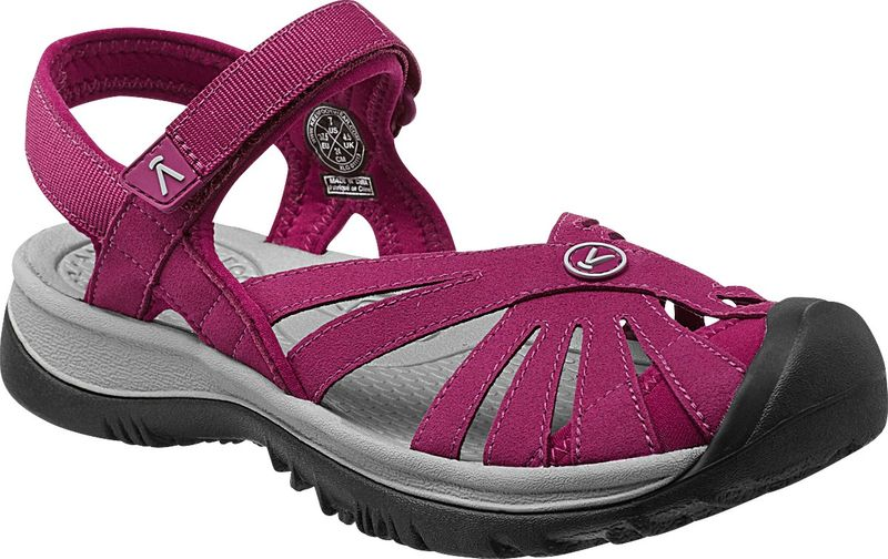 KEEN Rose Sandal W Beet Red/Neutral Gray 8,5 US (39 EU)