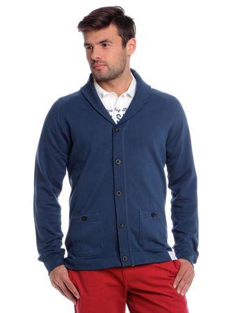 Chaps férfi pulóver L kék