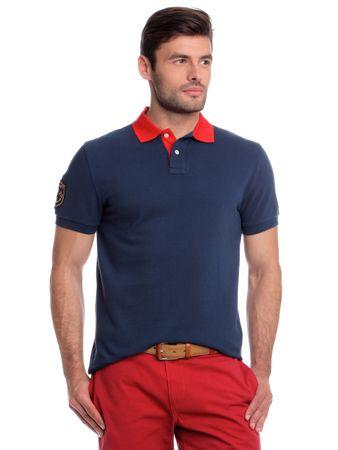 Chaps férfi galléros póló XL kék