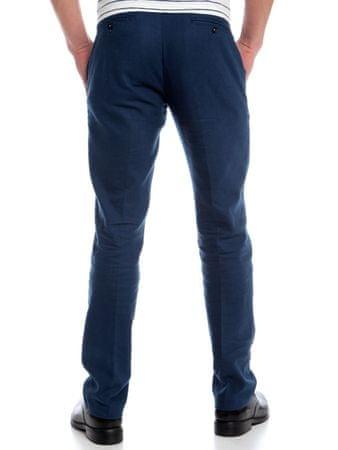 Chaps jednobarevné pánské kalhoty 42 34 modrá  320dae84bd