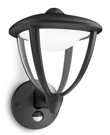Philips zunanja stenska svetilka s senzorjem 15479/30/16