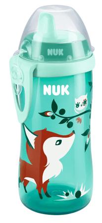 Nuk FC Kiddy Cup Dětská láhev 300ml, zelená