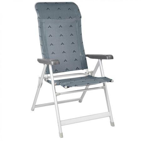 BERGER zložljiv stol Luxus siva