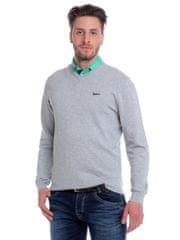 Brakeburn pohodlný pánský bavlněný svetr