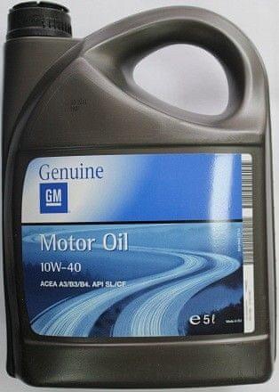 General motorno olje GM - Opel 10W-40, 5L