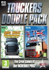 Excalibur Publishing Truckers Double Pack: Euro & UK Truck Simulator (PC)