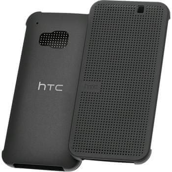 HTC Pouzdro Dot View HTC ONE M9, černé