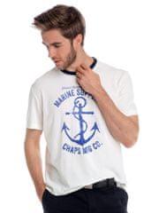 Chaps pánské tričko s potiskem kotvy