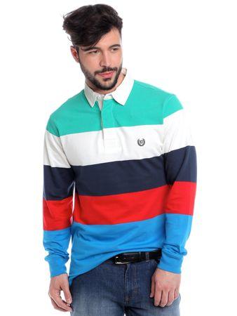 Chaps férfi galléros póló XXL többszínű