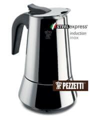 Pezzetti Steelexpress nerez moka konvice, 10 šálků, 500ml