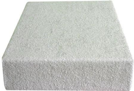 Greno plahta od frotira, 100 x 200 cm, bijela