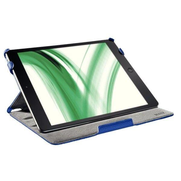 Pevné pouzdro Leitz Complete Smart Grip pro iPad Air modré
