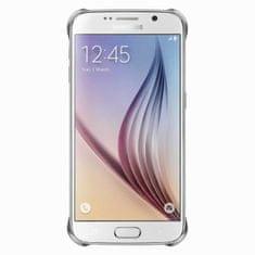 Samsung Kryt Clear Cover, Galaxy S6, stříbrný