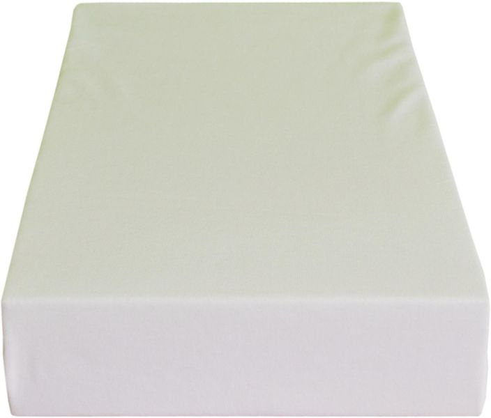 Greno Jersey prostěradlo 180 x 200 cm bílá