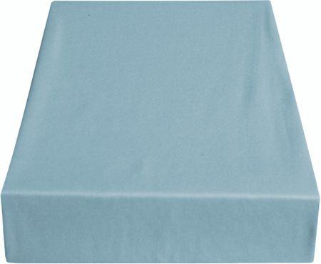 Greno rjuha Jersey, 220 x 200 cm, svetlo modra