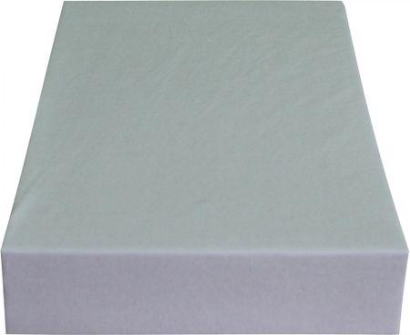 Greno rjuha Jersey, 220 x 200 cm, svetlo siva