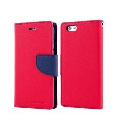 Goospery preklopna torbica Fancy Diary za Samsung Galaxy S6 (G920), crveno-plava