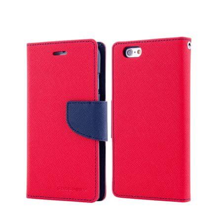 Goospery preklopna torbica Fancy Diary za Samsung Galaxy S6 (G920), rdeče-modra