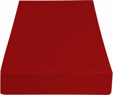 Greno rjuha Jersey, 220 x 200 cm, rdeča