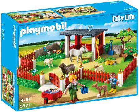 Playmobil 553 Állatsimogató és lábadozó II.osztály