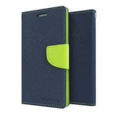 Goospery preklopna torbica Fancy Diary za Samsung Galaxy S6 Edge (G925), plavo-žuta