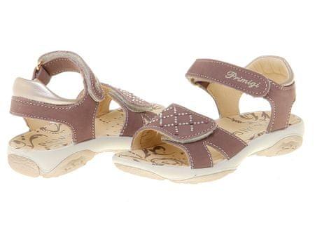 3b0729a13c49 Primigi dívčí kožené sandály Brisa 25 hnědá - Parametry