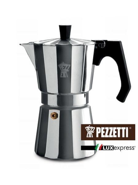 Pezzetti Luxexpress moka konvice, 6 šálků, 300ml