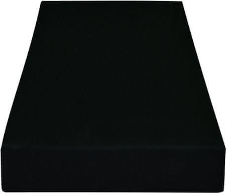 Greno rjuha Jersey, 220 x 200 cm, črna
